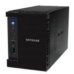 ReadyNAS 212 MEDIA HUB - 2 bay Consumer Desktop NAS (Diskless)