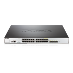 24-Port 10/100/1000Mbps & 4-Port Combo SFP L2 Managed Unified Wired/ / Wireless PoE Switch 12AP Inc