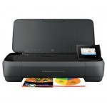 OfficeJet 250 Mobile All-in-One Printer, Wireless, Print, Copy and Scan, 700MHZ, 256MB, USB, 3.06 kg with Battery