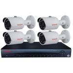 HONEYWELL - 4CH 1080P KIT W/ 4X IR BULLET CAMS, NO HDD