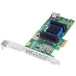 2270800-R - SATA/SAS, RAID0, 1, 1E, 10 HYDRAID1, 10, 4-Port, PCIE, IPM, NO CABLE