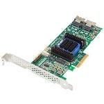 2271200-R - SATA/SAS, RAID0, 1, 5, 10, 50, 60, 8-Port, PCIEx8, 512MB, KIT, LP