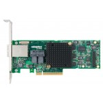 2277000-R - 12GB/S ROC, PCIG3, HYBRID RAID 0, 1, 1E, 5, 6, 10, 50, 60, 8INT+8EXT PORT, 2x SFF-8643 2X SFF-8644 CONNECTOR, 1GB CACHE, MD2-LOW PROFILE