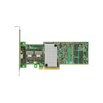 6G SAS RAID Controller with 8 internal ports and dual core ROC/DDR3-1G. No cables