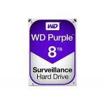 """3.5"""" WD PURPLE, 8TB, 5400RPM, SATA 6Gb/s, 128Cache, 3 Yrs warranty"""