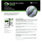 "Barracuda HDD, 2.5"", 3TB, SATA 6Gb/s, 5400rpm"