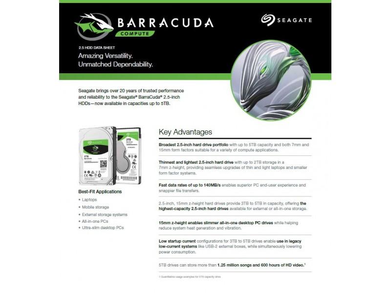 barracuda hdd 2 5 quot 5tb sata 6gb s 5400rpm 15mm