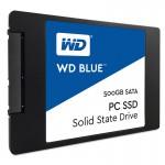 GENERIC, WD Blue, 2.5 Form Factor, SATA Interface, 500GB, CSSD Platform, 3Yr Warranty