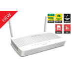 Draytek DV2620L LTE CAT4 Router with dual SIM card slot, VDSL2/ADSL2+ modem built-in, 2 x Gigabit LAN Switch, CSM, 2 x VPNs, 2 x SSL VPNs, and support VigorACS SI