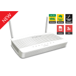 Draytek DV2620Ln LTE CAT4 Router with dual SIM card slot, VDSL2/ADSL2+ modem built-in, 2 x Gigabit LAN Switch, CSM, 2 x VPNs, 2 x SSL VPNs, 802.11n Wi-Fi, and support VigorACS SI